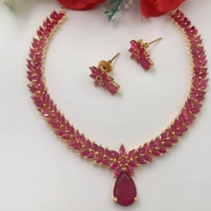 Ruby Short Necklace