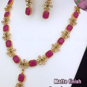 Alluring Ruby Necklace