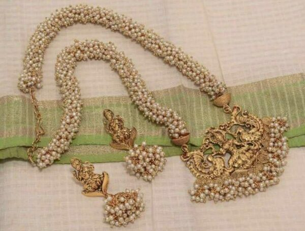 traditional pearl Long chain