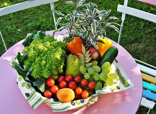fruits , vegetables and herbs